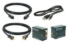 Digital zu Analog Konverter 0.7m Digital Koaxialkabel 0.7m Toslink USB # 192 KHz