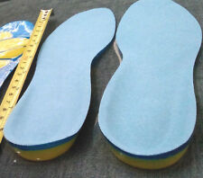 Ladies Silicone Insoles Pads Cushions Foot Care Comfort Shoes Heel Arch Support