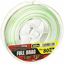 YGK Galis Ultra Castman WX8 GP-D Full Drag 400m 80lb # 5.0 Braid PE Line New