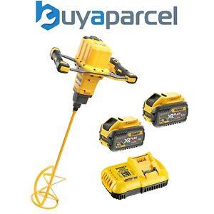 Dewalt DCD240X2 54V Li-ion Brushless Cordless XR Flexvolt Paddle Mixer - 2 x 9ah