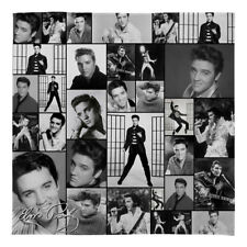 Large Warm Sofa Fleece Throw Elvis Presley Montage B&W Soft Bed Blanket Chair