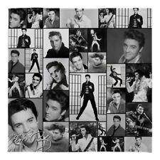 Grand chaud Divan Couverture en polaire Elvis Presley MONTAGE B&W DOUX lit