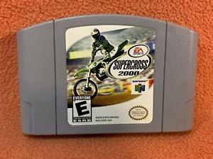 Supercross 2000 Nintendo 64 N64 Original Authentic Retro Classic Game!