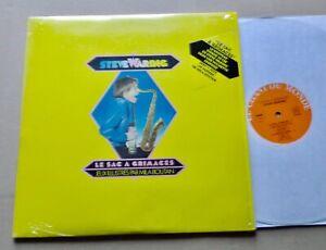 Steve WARING Le sac a grimaces LP+Inserts CHANT DU MONDE 100309 (1982) NMINT