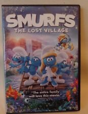 SMURFS, THE LOST VILLAGE, DVD, CASE & COVER ARTWORK INCLUDED