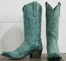 Lane Boots Saratoga Women's Western Cowgirl Boots Size 7.5