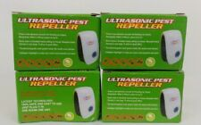 4 Ultrasonic Electronic Pet Repeller Reject Anti Mosquito Pest Bug Noiseless