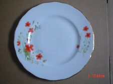 Colclough Bone China Side Plate POPPIES POPPY