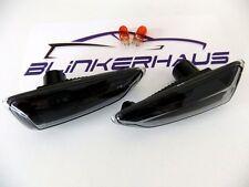 SMOKED Vauxhall Astra Mk6 Mk7 Sports Tourer Zafira Mk3 Side Repeaters Indicators