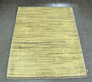 New handmade nomadic woolen rugs . Size: 2.26 x 4.1 ft - 125 x 80 cm