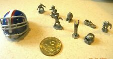 Monopoly NFL Edition  Game Tokens Movers Die Set of 10 Pieces Parts