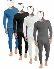 MENS THERMAL UNDERWEAR FULL SET  LONG SLEEVE TOP SHIRT VEST  LONG JOHNS TROUSER