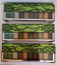 3 pk  palette HARD CANDY Top Ten Eyeshadow Collection GREEN WITH ENVY 526