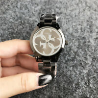 New Women's Dress Stainless steel Quartz Bear Wristwatch Bear Watch