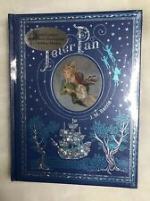 *New Sealed Leatherbound* PETER PAN by J. M. Barrie & Illustrated by Bedford