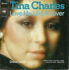 "Tina Charles - Love me like a Lover  HOLLAND 7"" (1976)"