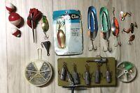 Fishing Equipment-- Vintage Lures  ETC.. 25 Pieces