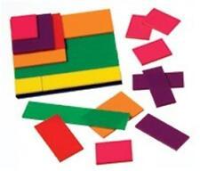 FRACTION Squares. Teacher Math Manipulatives Montessori Elementary Homeschool