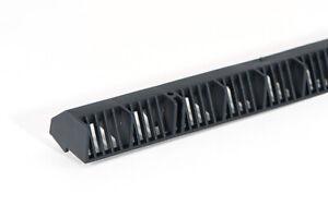 Timloc 10mm Over Fascia Vent Black Roof Space / Eaves Ventilation Strip 1m Long