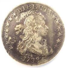 1799 Draped Bust Silver Dollar $1 - NGC XF Details - Rare Coin - Near AU!