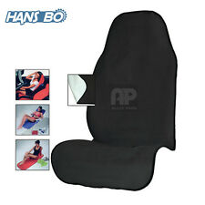 Black Sweat Towel Car Seat Cover Mat Water Sports Yoga Gym Swimming Beach