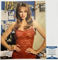 Vanessa Angel Autographed Weird Science 11x14 Photo Signed BAS COA