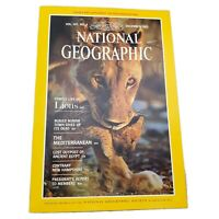 Vtg National Geographic Magazine Volume 162 No 6 December 1982 Mint Condition