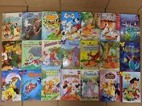 Lot of 10 Wonderful World Reading Walt Disney Cartoon Children Kids Books RANDOM