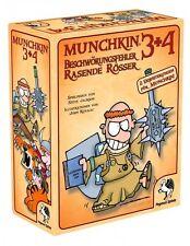 Pegasus Spiele Munchkin 3+4 Edition Kartenspiele Viel Spaß Spielzeug