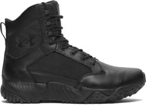 """Under Armour 1268951 Men's UA Stellar 8"""" Tactical Duty DWR Leather Boots"""