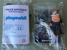 FIGURINE PLAYMOBIL POLICE NATIONALE SPECIAL FRANCE EDITION NEUF SOUS BLISTER
