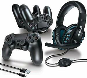 6 in 1 Game kit Black for dreamGEAR PS4