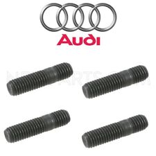 For Audi A3 Q3 TT Quattro Set Of 4 Turbo Exhaust Manifold Mounting Studs 10x28mm