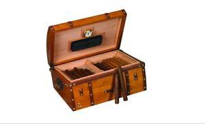 Humidor Supreme 200-Cigar 'Gold Rush' Humidor