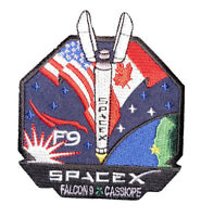 "SPACE X COLLECTIBLE ITEM - FALCON 9 CASSIOPE USA CANADA 3.5"" IRON PATCH ON SALE"