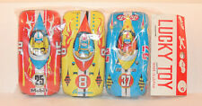 Race Car Friction Lucky Toy set of 3 original package (13085)