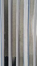 Microdont USA Diamond Hive / Turbo Stainless Steel Strips 4mm Medium 6Box