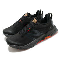 New Balance Fresh Foam X Hierro v6 Wide Black Red Men Trail Running MTHIERK6 2E