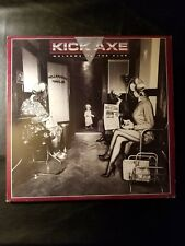 Kick Axe Welcome To The Club  LP Never Played  OPEN