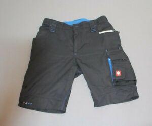 Engelbert Strauss motion 2020 Workwear Gr.54 Arbeitshose kurz graphit enzianblau