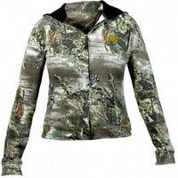 Realtree Girl Max-1 Camo Deer/Elk Hunting Zip Up Lightweight Hoodie Jacket RG404