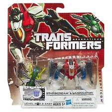 Transformers Generations Legends Class Starscream and Waspinator