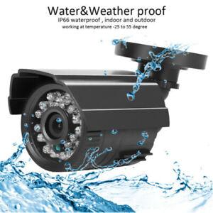 1080P CCTV Camera Home Outdoor Bullet Security Camera 24Led Night Vision PAL BNC