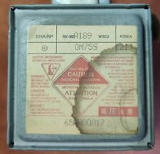 SHARP Microwave Magnetron Tube A189 0M75S