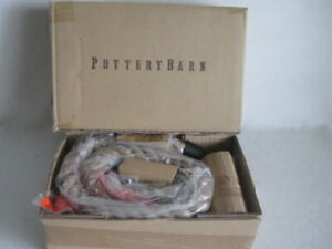 "NEW Pottery Barn 44"" Pendant Rope Kit For Lighting"