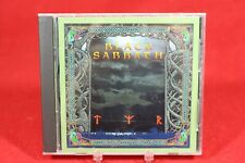 BLACK SABBATH Tyr (CD, 1990, I.R.S. Metal) X2 13049, Original Press