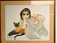 "Margaret Keane ""Ladies in Waiting""  Framed signed lithograph"