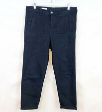 GAP 1969 Sexy Boyfriend Jeans Womens Dark Trouser Pleated Front 29 8 Cropped