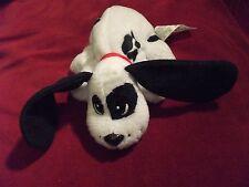 """Mattel Pound Puppy black with white spots 6"""""""