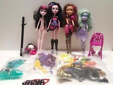 Large Monster High Doll lot of dolls clothing accessories